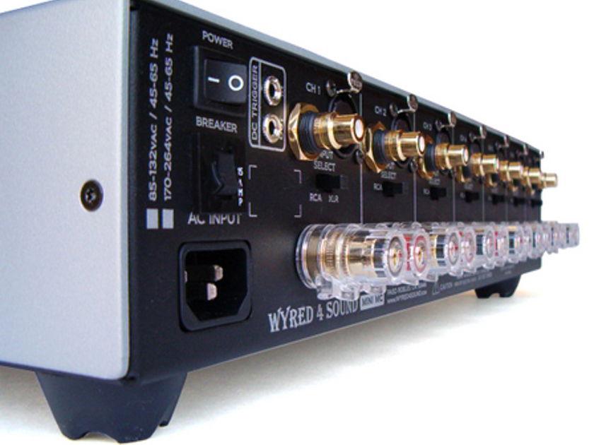 Wyred 4 Sound Mini MC-5 220 watts x 5ch amp-New