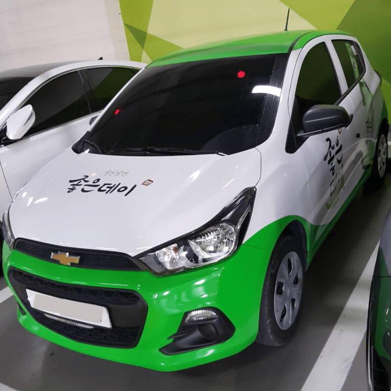 voiture soju