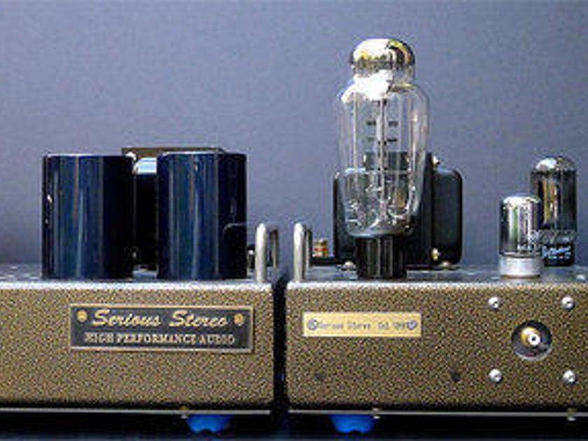 Serious Stereo 2A3 Mono Blocks Priced to Sell!!