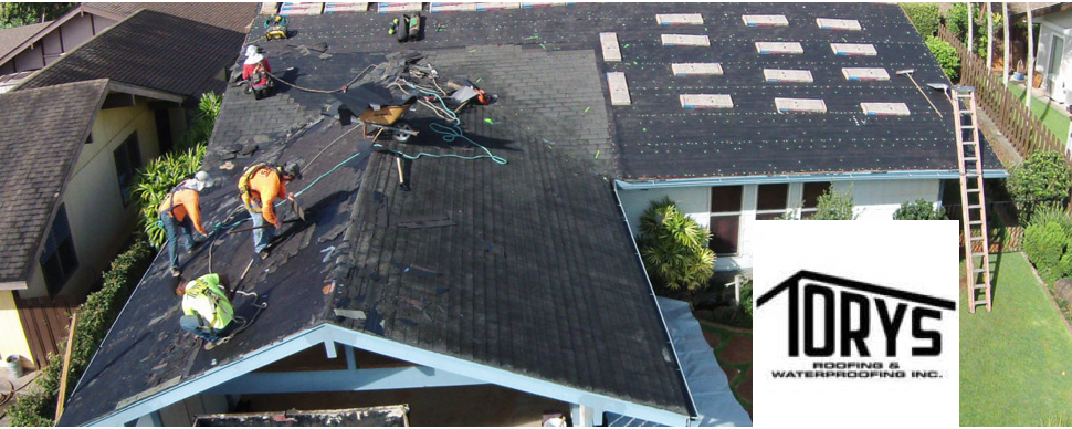 Tory's Roofing & Waterproofing, Inc.
