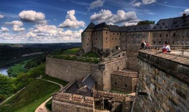 Саксонская Швейцария — замок Кёнигштайн + Гора Бастай + Пильнитц замoк (парк)
