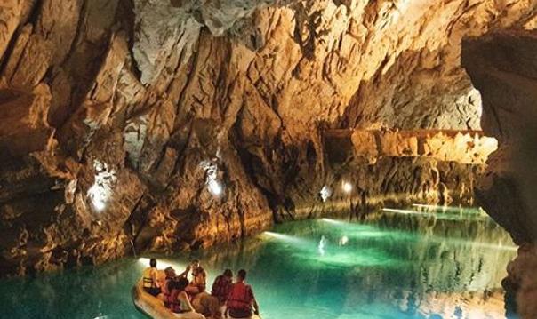Пещера Алтынбешик и тур по лесу из Сиде