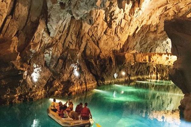 Скачать обои лес пещера бельгия грот де спи, 2560x1600 | 420x630