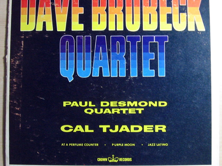 Dave Brubeck Quartet, The / Paul Desmond Quartet, - Dave Brubeck Quartet, Paul Desmond Quartet, Cal Tj - 1961 Crown Records CLP 5288
