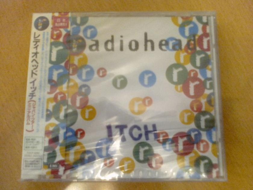 Radiohead - - Itch EP (Japan 1st edit, promo sample, sealed)