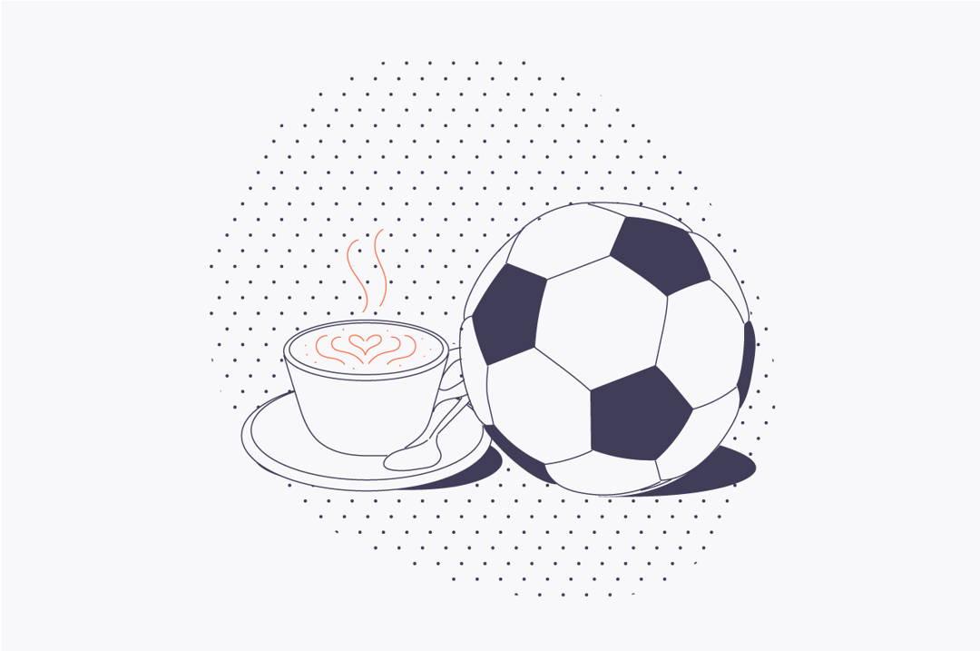 Half Time Reading: Coffee + Football