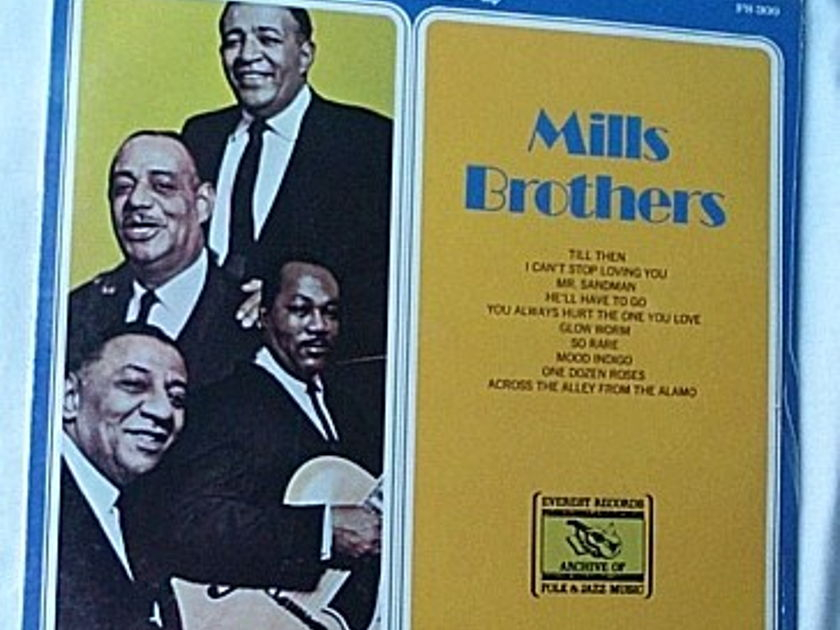 Mills Brothers LP-Mills Brothers- - orig 1974 SEALED ALBUM-superb vocal harmonies