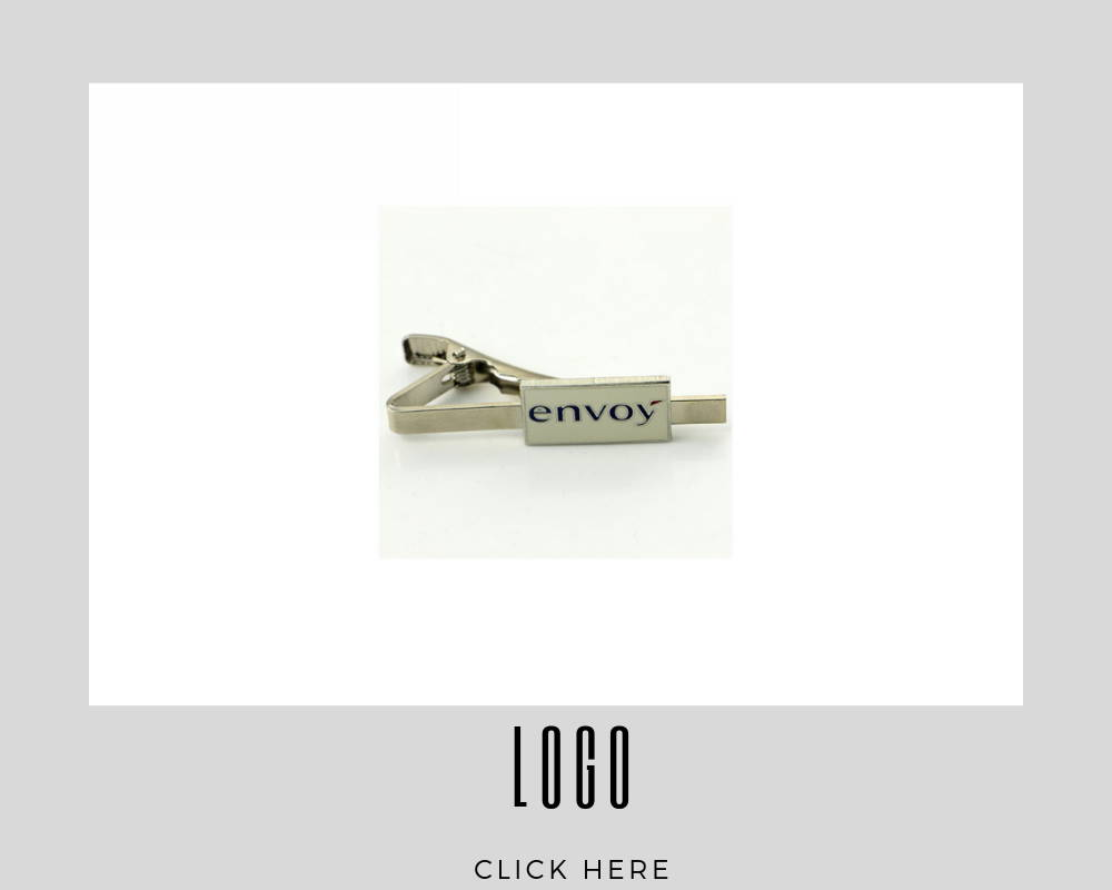 Custom Corporate Logo Tie Bar