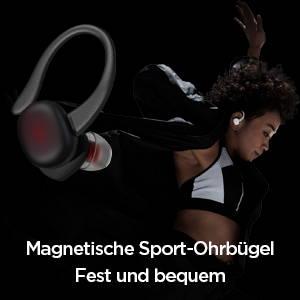 Amazfit PowerBuds - Magnetische Sport-Ohrbügel. Fest und bequem