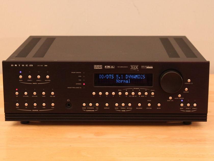 Anthem  AVM 30 AVM-30HT Preamp / Tuner / Theater Processor 24/192