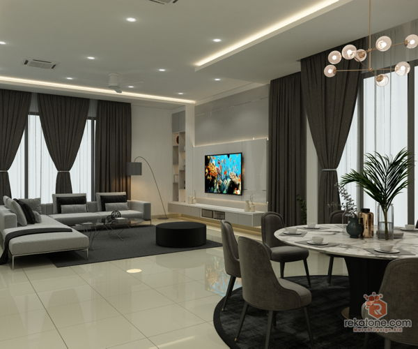 fukuto-services-contemporary-modern-malaysia-selangor-dining-room-living-room-3d-drawing