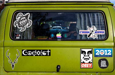 Vehicle Stickers