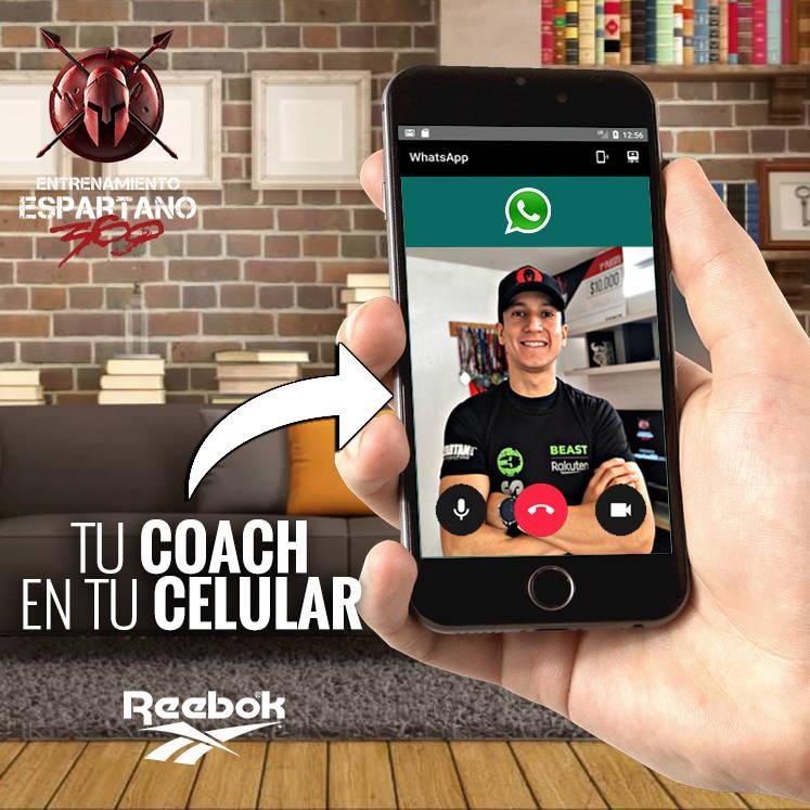 Con los Programas de Entrenamiento Espartano 360 ahora podés tener un entrenador personal en tu celular.