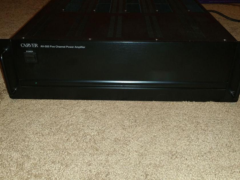 Carver AV505 5 Channel Amp