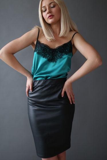 Топ женский в бельевом стиле с французским кружевом