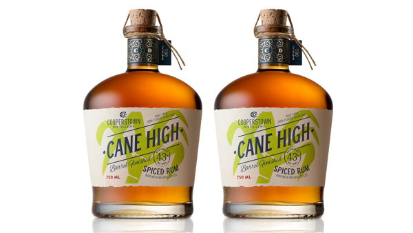 Cane High Rum Cooperstown Distillery