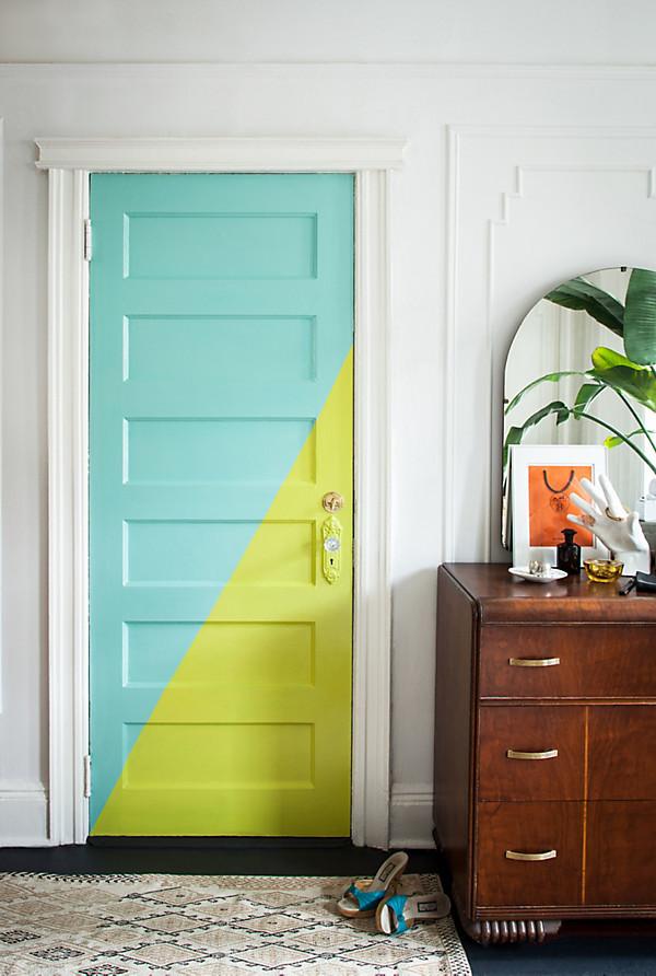 DIY Painted Door