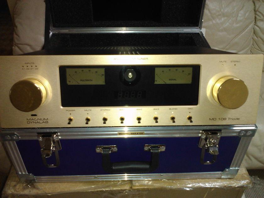 Magnum Dynalab 108T  Gold Face w/DAC Upgrade. Original Box, Flight Case.  Stunning!!!
