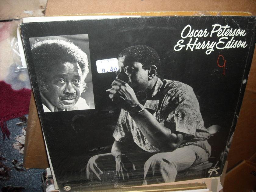(lec) Oscar Peterson & H. Edison - (no title) Pablo LP (c)