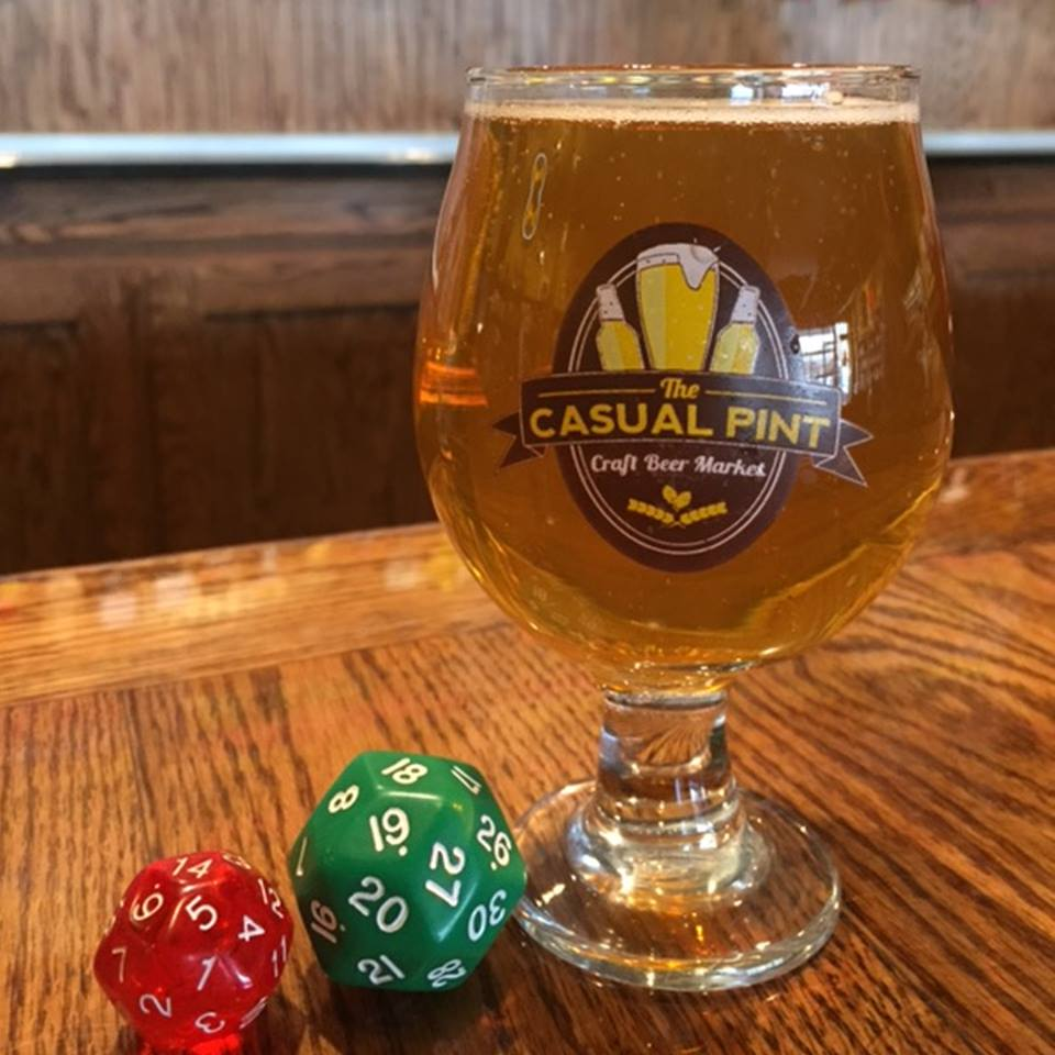 Picture of Roll the dice for a chance to get $2 or $1 off your draft beer!