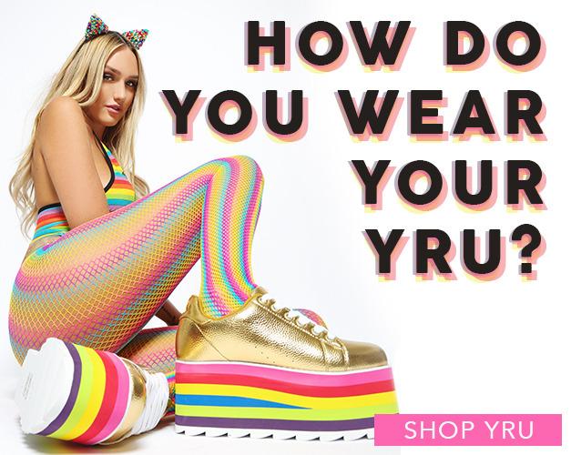How do you wear your YRU? New arrivals from YRU | Tiltedsole.com