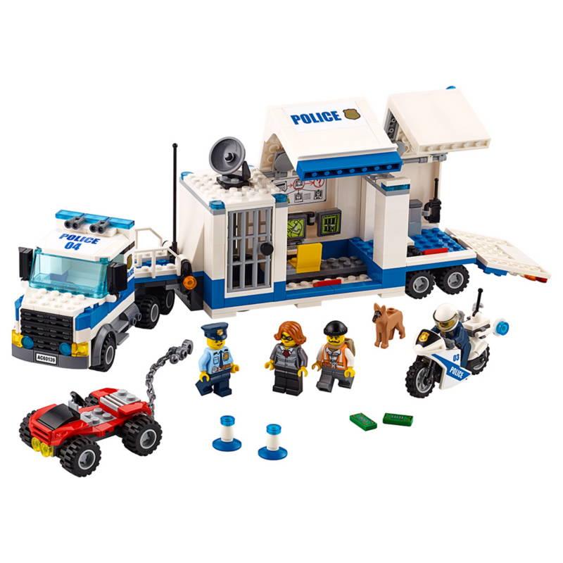 lego city police commander set