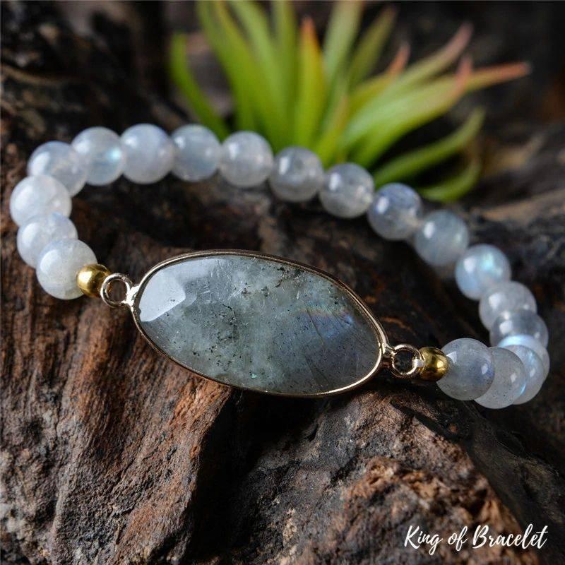 Bracelet en de Protection en Perles d'Améthyste - King of Bracelet
