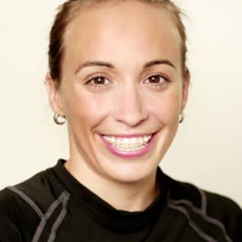Triathlete Kathy Tremblay