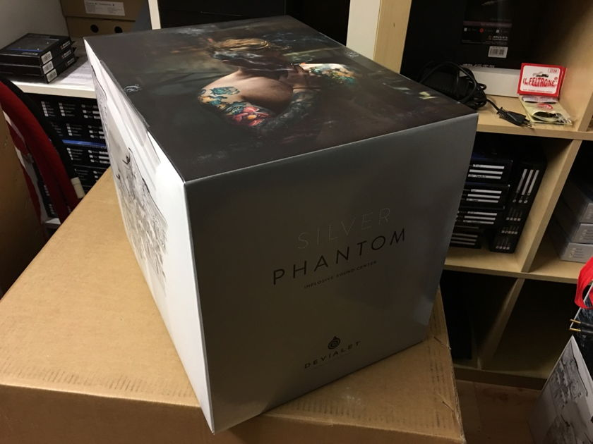 Devialet Phantom Silver Still sealed in box, REDUCED!!