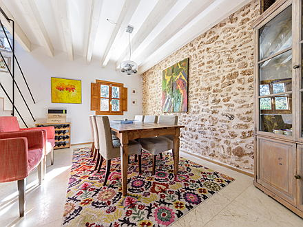 Pollensa - Living room of a wonderful country house for sale in Alcudia