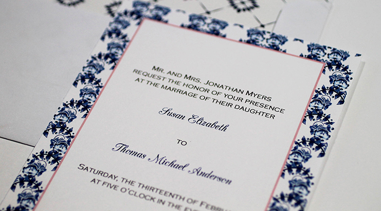 Top Invitation Etiquette Mistakes | Charlotte Wedding