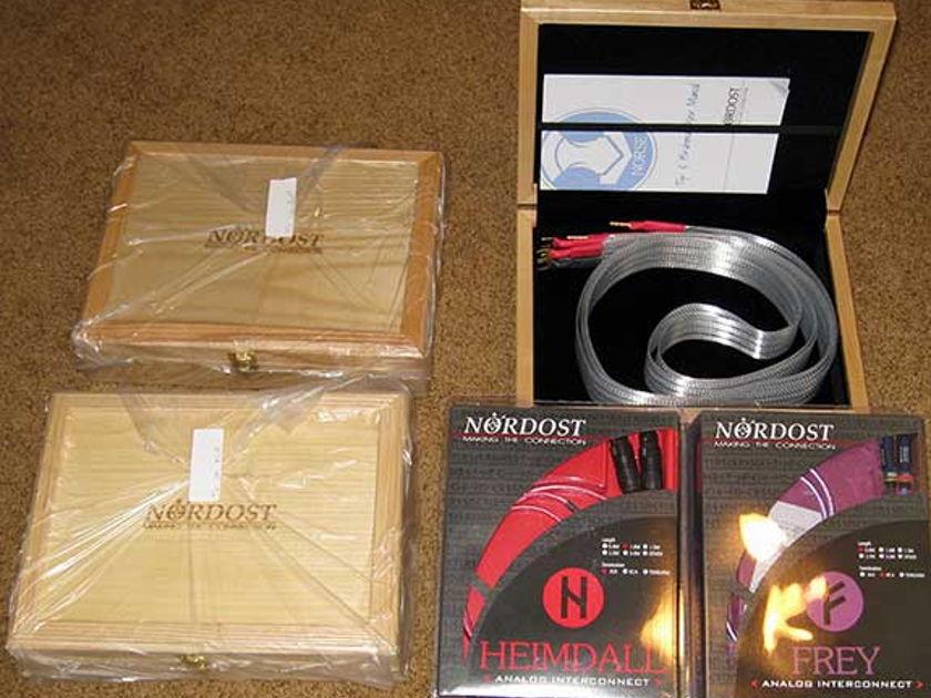 NORDOST HEIMDALL 1M XLR, NEW IN BOX, STOCK CLEARANCE  SALE, WARRANTY!