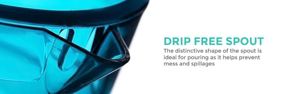 Drip Free Spout