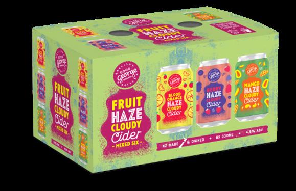 Fruit Haze Cloudy Mixed Cider