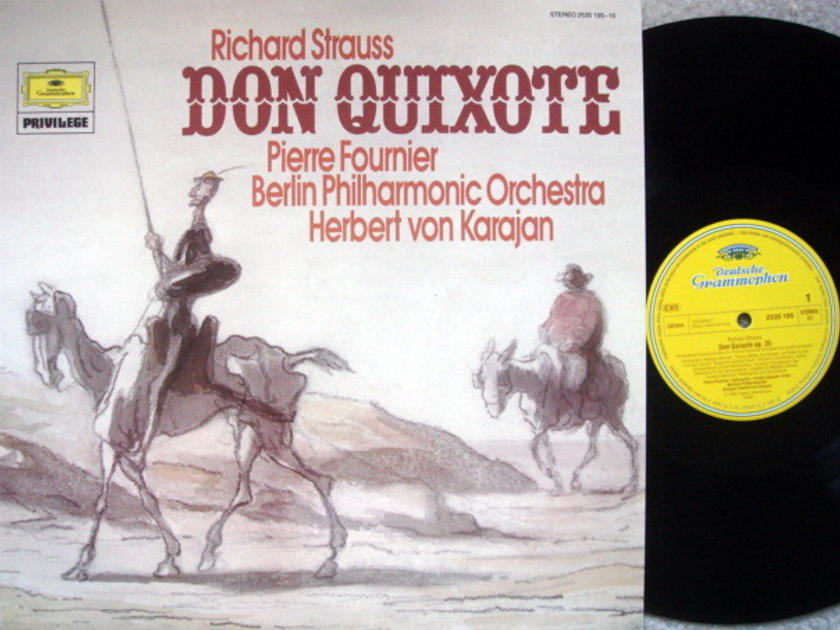 DG / FOURNIER-KARAJAN, - R. Strauss Don Quixote, MINT!