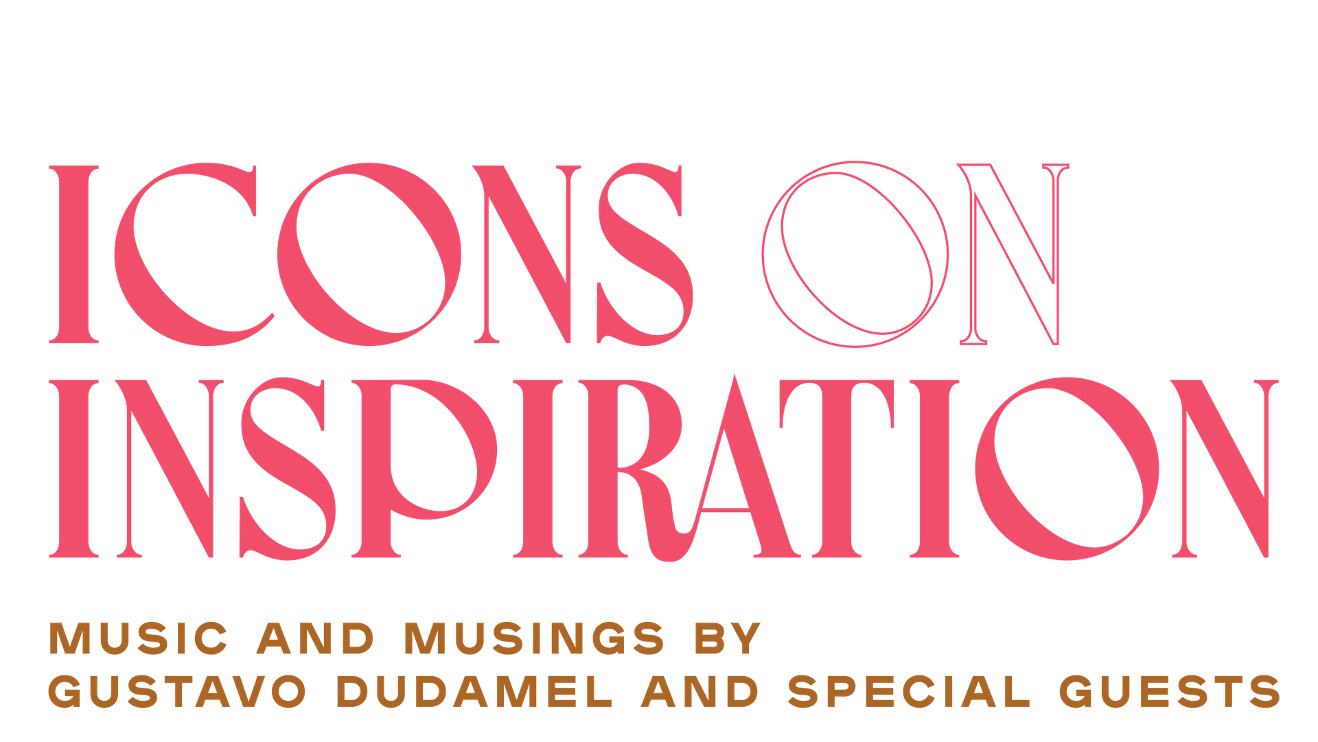 Icons on Inspiration: premiering here on Feb 6, 2021 at 6PM PT