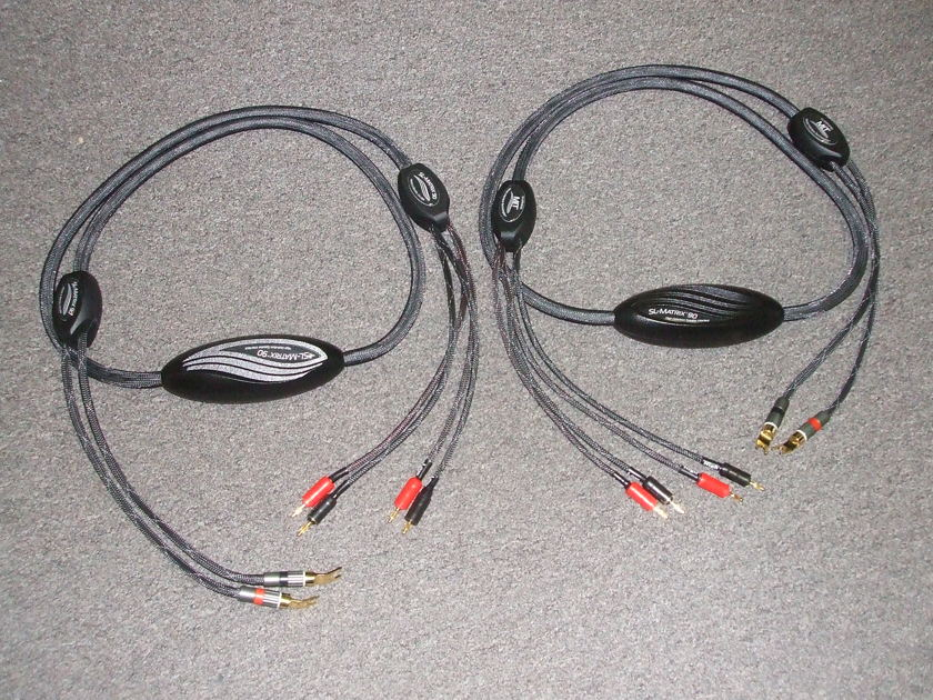 MIT SL-Matrix 90 Bi-Wire 8ft speaker cables