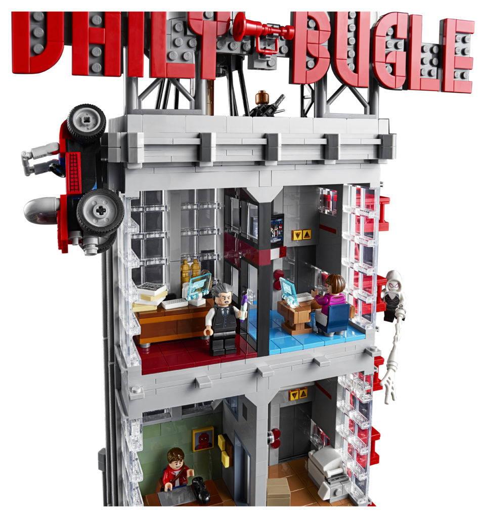 Lego Marvel Daily Bugle set