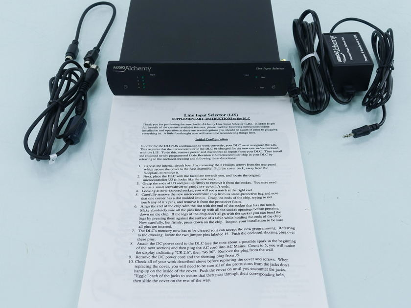 Audio Alchemy LIS Line Input Selector (9014)