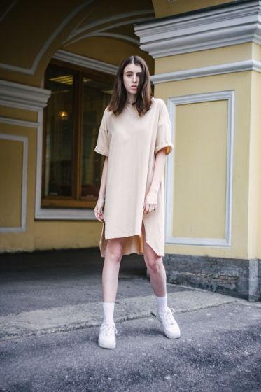 Женское трикотажное платье Blank