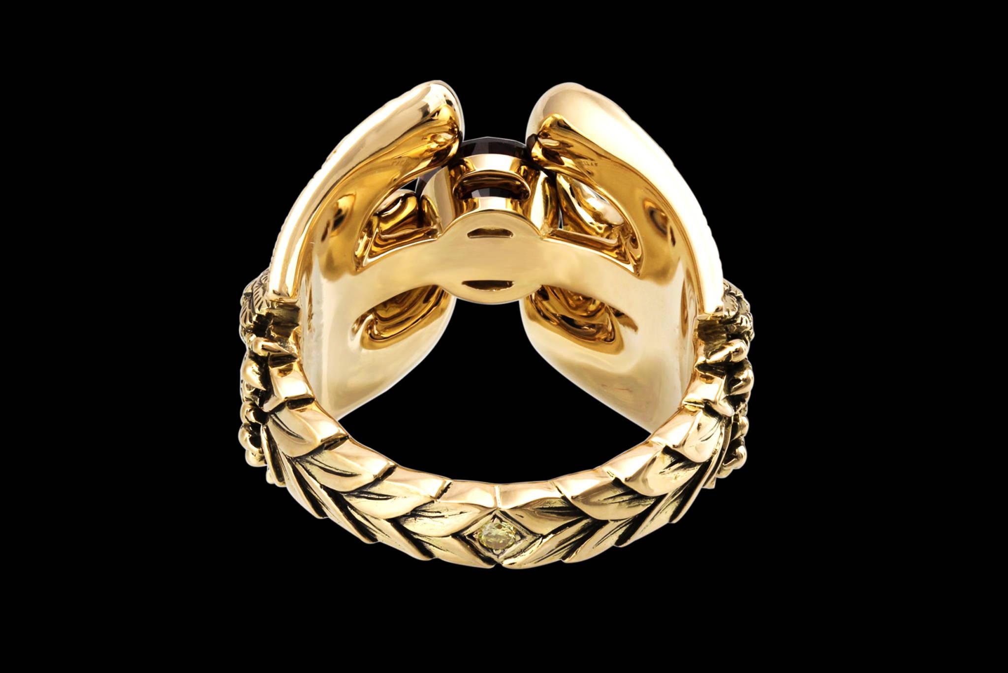 Imperium Romanum Ring back view