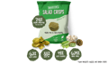 Marvin's Pea and Feta Falafel Salad Crisps with fresh ingredients