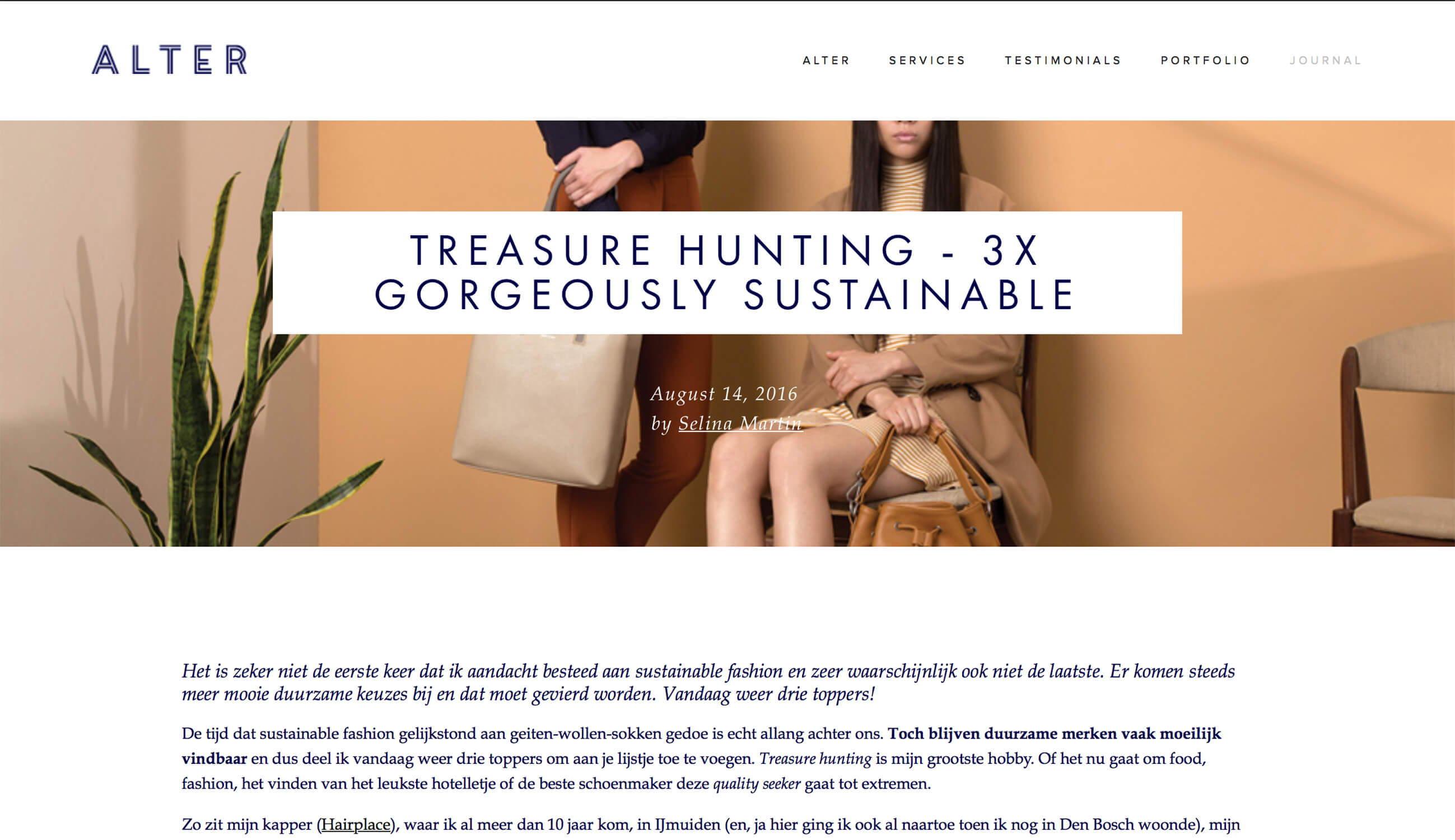 alter noumenon sustainable fashion