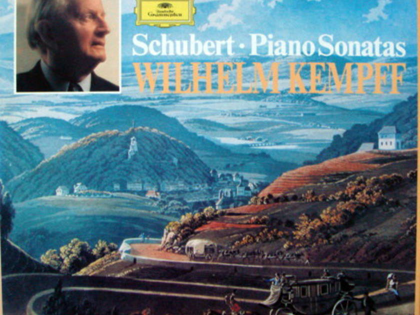 DG / Schubert The Complete Piano Sonatas, - KEMPFF, MINT, 9LP Box Set!