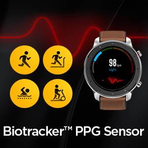 Amazfit GTR 47 mm - Biotracker PPG Sensor