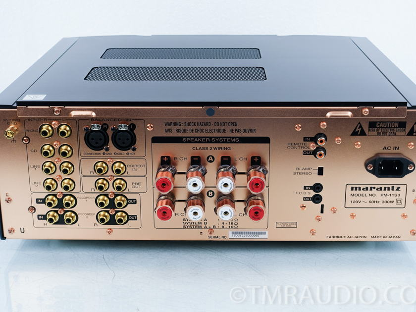 Marantz  PM-11S3 Integrated Amplifier; Reference Series (9017)