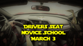 Drivers Seat at Foxtrot NCR Novice School
