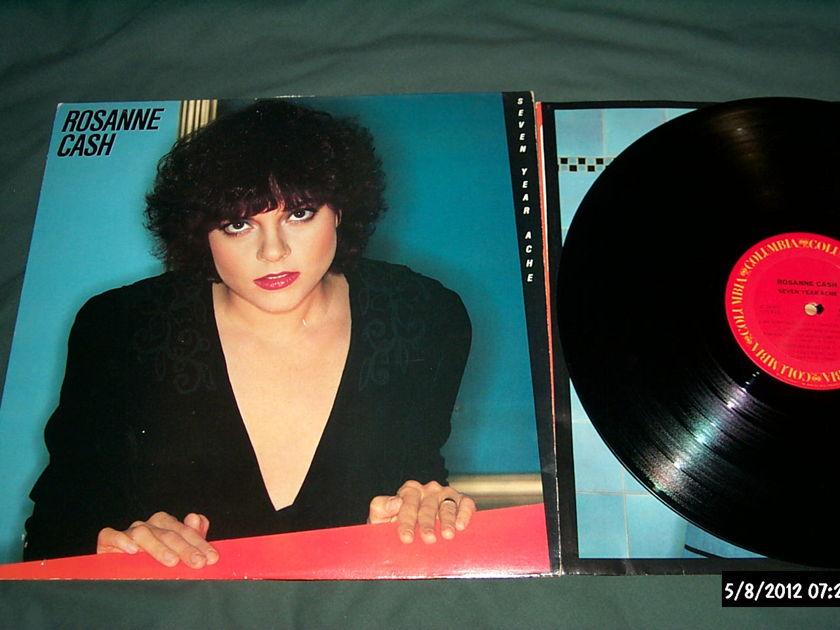 Roseanne Cash - Seven Year Ache LP NM
