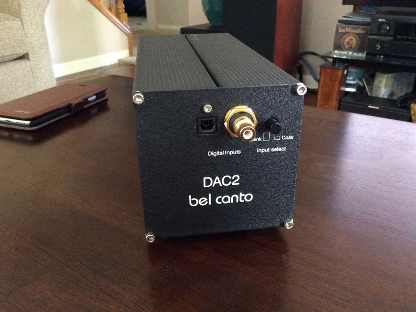 Bel Canto Design DAC 2 As new condition, rarely used 2nd system.