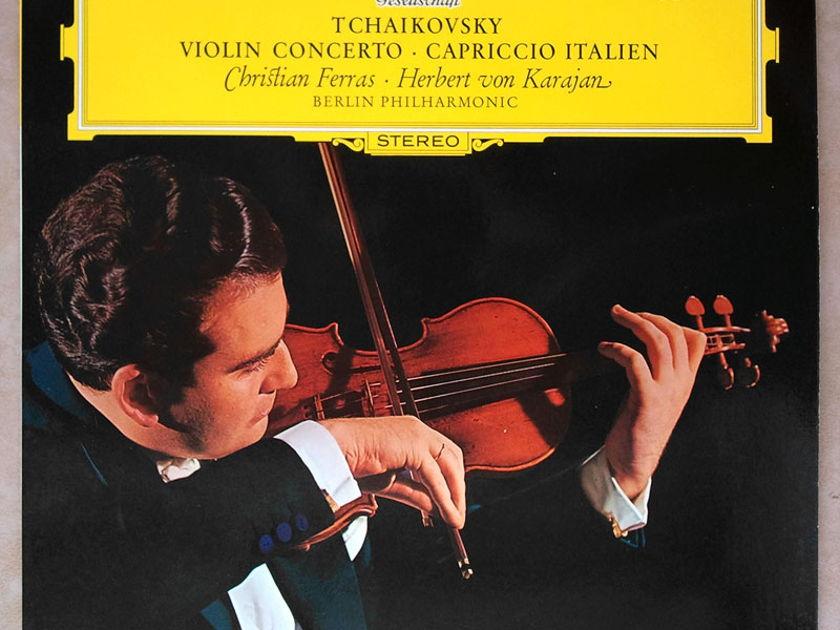 DGG   CHRISTIAN FERRAS/KARAJAN/TCHAIKOVSKY - Violin Concerto / NM